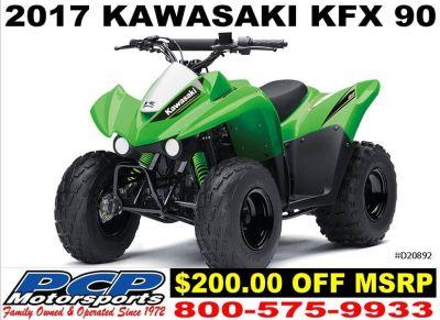 2017 Kawasaki KFX90 Kids ATVs Sacramento, CA