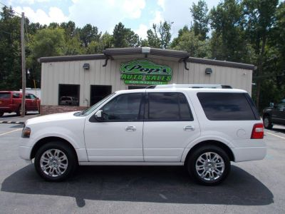 2011 Ford Expedition Limited (White)