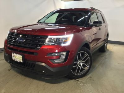 2016 Ford Explorer 4WD 4dr Sport (Ruby Red Metallic Tinted Clearcoat)