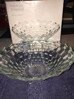 Vintage American Whitehall footed Center Bowl