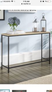 ISO console table