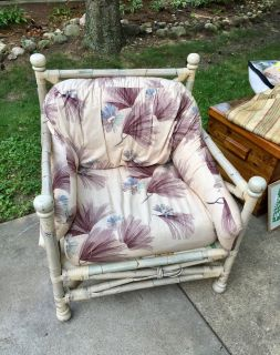 Outdoor chair at Yard Sale