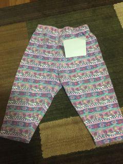 12 month floral pants