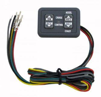 Buy Audiovox/Rostra Dash Mount Cruise Control Switch NEW Flat Panel 250-3593 motorcycle in Jacksonville, Florida, United States, for US $24.95