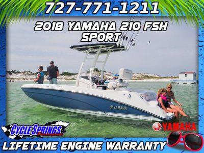 2018 Yamaha 210 FSH Sport Jet Boats Clearwater, FL