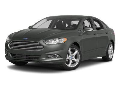 2014 Ford Fusion SE (Silver)