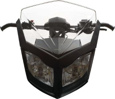 Buy Ski-Doo Medium injected windshield-Smoke motorcycle in Sauk Centre, Minnesota, United States, for US $109.99