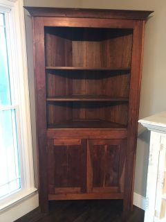 Antique Cherry Corner Cabinet