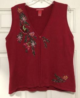 Merry and Bright Christmas Vest