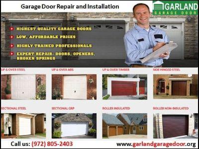 Most successful Garage Door Repair company in Garland, TX