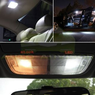 Buy 7x White Interior LED Light Bulbs Full Package Kit For 1998-2002 Subaru Forester motorcycle in South El Monte, California, United States, for US $7.79