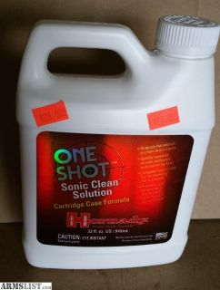 For Sale: Hornady One Shot Sonic Cleaner Solution