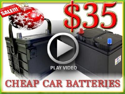 $35 Used Car Battery-Batteries