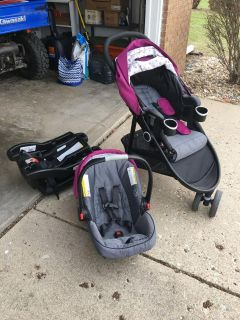 Graco travel system and extra bases