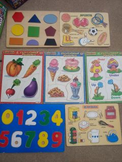 Toddler puzzles (7)