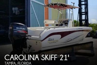 2012 Carolina Skiff Sea Chaser 2100 Offshore