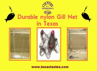 Buy nylon gill net at a best price | Heinsohn's Country Store, TX, USA