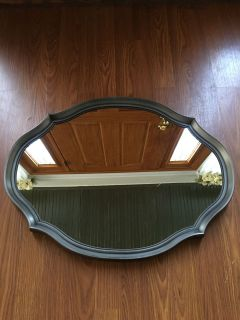 Mirror can be hung either direction