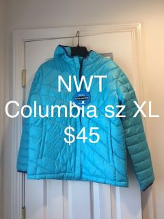 NWT Girls Columbia Winter Coat Size XL