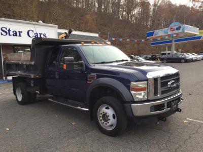 """2009 Ford Super Duty F-550 DRW 4WD SuperCab 186"""" WB 84"""" CA XL (Dark Blue Pearl Metallic)"""