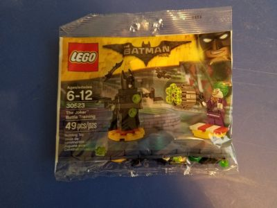 Lego #30523 The Joker Battle Training polybag NEW