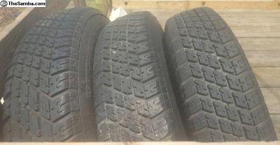 3 Cooper Tires 165/80 R 15