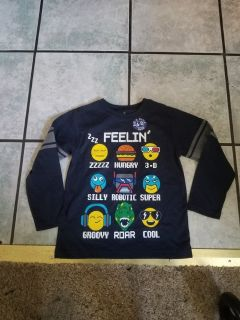 Toddler size 4 new long sleeve shirt