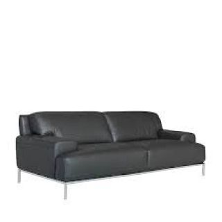 Taylor Leather Sofa Reg,$3360. Furniture Now Outlet Price $999.