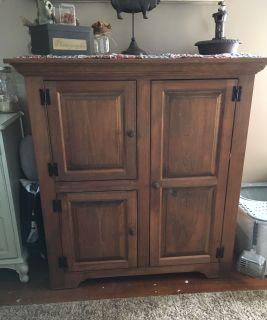 Amish made cabinet