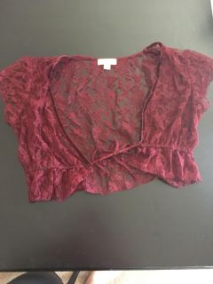 Candie s lace cover up