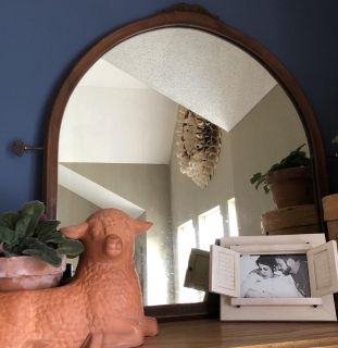 Antique mirror in great shape for age! Beautiful- great farmhouse mirror!