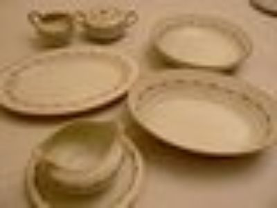 Antique china set of 12 place settings