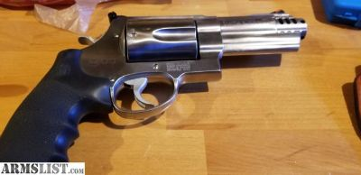 "For Sale: S&W 500 4"" with gear"