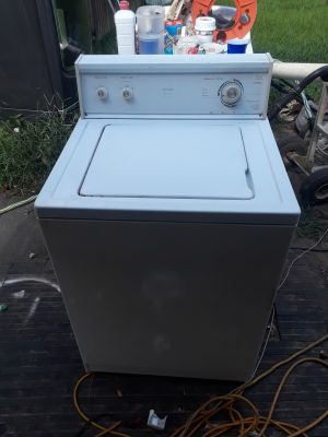Kenmore washer and Roper dryer