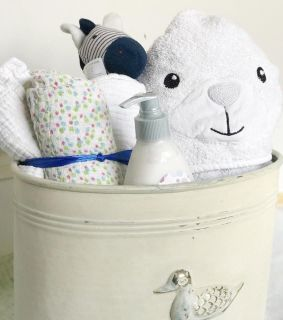Baby accessories container