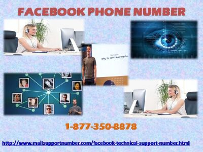 Acquire 1-877-350-8878 Facebook Phone Number to recover your lost Facebook page