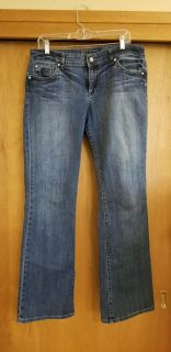KUT Jeans with Crystal Buttons