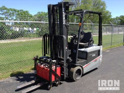 2014 Nissan TX40 Electric Forklift