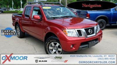 2013 Nissan Frontier SE V6 (Lava Red)
