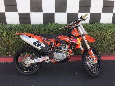 2012 KTM 450 SX-F Factory Edition Motocross Motorcycles Costa Mesa, CA