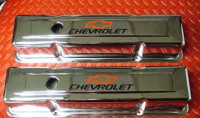 Find VALVE COVER SET SMALL BLOCK CHEVY TALL CHROME PLATED CHEVROLET NEW 3 5/8 HEIGHT motorcycle in Brooksville, Florida, United States, for US $65.00