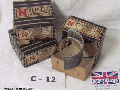 Sell NUFFIELD (MORRIS WOOSLEY RILEY) MAIN ENGINE BEARING SET OF 3 BOXES motorcycle in Morrisville, Pennsylvania, United States, for US $44.95