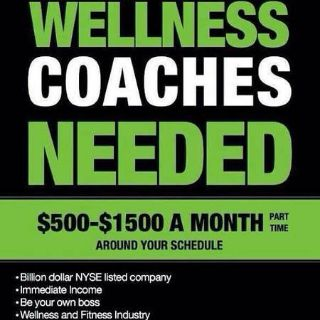 Looking for two health coaches (CENLA)