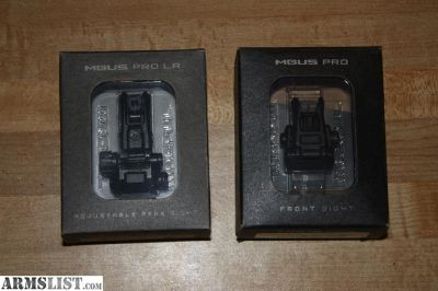 For Sale/Trade: Magpul MBUS Pro Long Range Sight Set