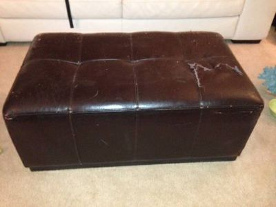 Free Leather Sofa Table  (Lafayette)