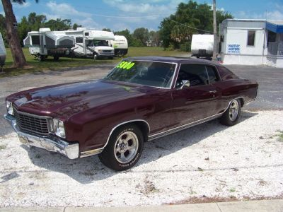 72 Chevrolet Monte Carlo (Red)