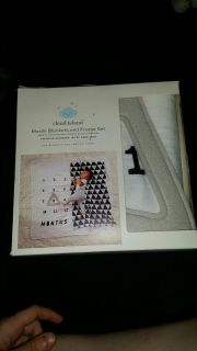Muslin blankets and frame set