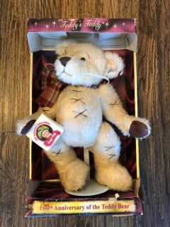 Collectible teddy bear $3