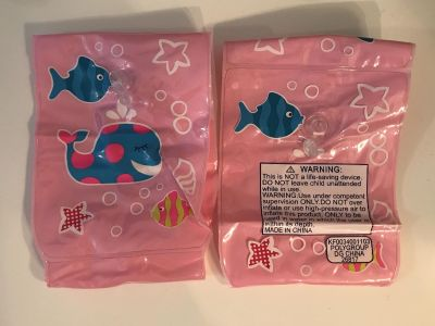 Floaties for young child-pink