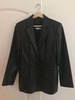 Lord and Taylor leather coat